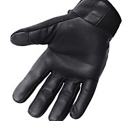 Sports Gloves Bike Gloves / Cycling Gloves Wearable Protective Full-finger Gloves Leather Cloth Cycling / Bike Unisex