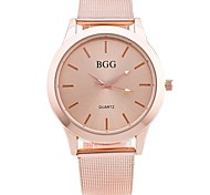 Men's Women's Wrist watch Dress Watch Fashion Watch Chinese Quartz Alloy Band Vintage Casual Elegant Gold Rose Gold