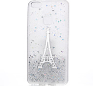 Case For Huawei P10 Lite P10 Pattern Back Cover Eiffel Tower Soft Silicone for Huawei P10 Lite Huawei P10 Huawei P8 Lite (2017) Huawei