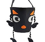 Призрак Монстры Тыква Сумки и кошельки Хэллоуин Фестиваль / праздник Костюмы на Хэллоуин Черный Мода