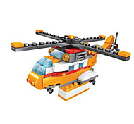 Building Blocks Toys Helicopter Pieces Not Specified Gift