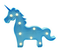 BRELONG 3D Warm White Kids Room Decoration Night Light Christmas Light Wedding Decorative Light - Unicorn