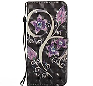 Case For Samsung Galaxy S8 Plus S8 Case Cover Card Holder Wallet with Stand Flip Pattern Full Body Case Flower Hard PU Leather for S7 edge S7 S6