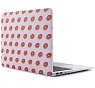Недорогие -MacBook Кейс для Продукты питания ТПУ MacBook Air, 13 дюймов MacBook Air, 11 дюймов MacBook Pro, 13 дюймов с дисплеем Retina