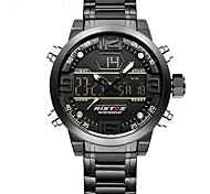 Недорогие -Муж. Детские Спортивные часы Армейские часы электронные часы Японский Кварцевый Будильник Календарь Секундомер Защита от влаги LED
