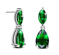 cheap -Women's Stud Earrings Crystal AAA Cubic Zirconia Fashion Luxury Crystal Cubic Zirconia Drop Jewelry For Gift Daily