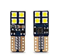 Недорогие -T10 Автомобиль Лампы 4W SMD 3030 400lm 8 Внешние осветительные приборы For Универсальный Все модели Все года