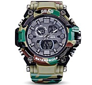 Men's Women's Sport Watch Military Watch Digital Watch Japanese Quartz LED Calendar Chronograph Water Resistant / Water Proof Speedometer