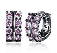 Women's Stud Earrings Hoop Earrings Synthetic Diamond AAA Cubic Zirconia Fashion Personalized Zircon Cubic Zirconia Geometric Irregular