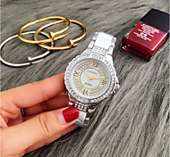 Men's Women's Fashion Watch Wrist watch Unique Creative Watch Casual Watch Quartz Water Resistant / Water Proof Stainless Steel Band