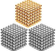 Магнитные игрушки Сильные магниты из редкоземельных металлов Магнитные шарики Устройства для снятия стресса 216*3 Куски 3mm Игрушки Металл