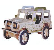 Дисплей Модель Конструкторы 3D пазлы Игрушечные машинки Наборы для моделирования Военная техника Игрушки Автомобиль Транспорт Армия
