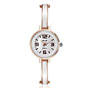Недорогие -Жен. Нарядные часы Модные часы Имитационная Четырехугольник Часы Японский Кварцевый сплав Группа С подвесками Повседневная Элегантные часы