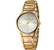 Women's Fashion Watch Quartz Alloy Band Casual Gold