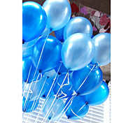 cheap -20 Pcs/Set Air Balloons Latex 10 Inch Solid Color Inflatable Circular Balloon
