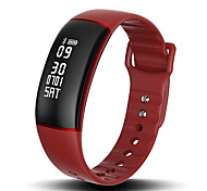 HHY New A69 Smart Wristbands Heart Rate Blood Pressure Sleep Monitoring Sedentary Reminder Caller Information Reminder