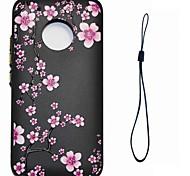 Case For Motorola Moto G5 Plus G5 Flower Pattern Back Cover Case Soft TPU