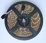 5m led streifen licht lampe 300 leds 5050smd rgb dc5v wasserdicht für tv hintergrundbeleuchtung weiß pcb 1 stücke