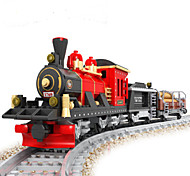 Building Blocks Train Toys Train Still Life Vehicles Fashion Kids Pieces