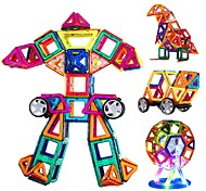 cheap -Magnetic Building Sets Triangle DIY Fun Classic Children's Girls' Boys' Gift