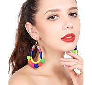 cheap -Women's Tassel Drop Earrings Hoop Earrings - Tassel Sexy Ball For Christmas Party