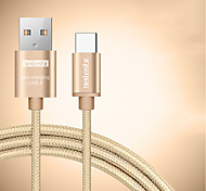 beileshi usb 2.0 connect cable usb 2.0 to usb 2.0 type c соединительный кабель male - male 2.0m (6.5ft) две части