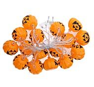 1set Halloween Pumpkin String Led Light Bar16 Lamp Holder 2.5M  white Colorful  EU Plug AC220V