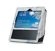 cheap -Color Printing Pattern Card with Stand Flip Hand Draw PU Leather Case for Amazon Echo Show