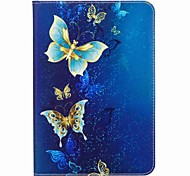 cheap -Case For Samsung Galaxy Tab S2 8.0 Full Body Cases Tablet Cases Butterfly Hard PU Leather for