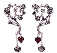 cheap -Women's Stud Earrings Rhinestone Fashion Personalized Rhinestone Alloy Flower Jewelry For Daily Going out