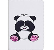 Panda Pattern Card Holder Wallet with Stand Flip Magnetic PU Leather Case for Samsung GALAXY Tab A 9.7 T550 T555 9.7 inch Tablet PC