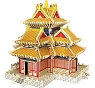 Недорогие -Набор для творчества 3D пазлы Пазлы Пазлы и логические игры Игрушки Лошадь Животные 3D Домики Мода Для детской Горячая распродажа