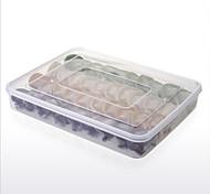Недорогие -пища свежая коробка пельмени поднос сохранение хранения коробка держатель холодильник crisper запечатанная коробка пельмени коробки