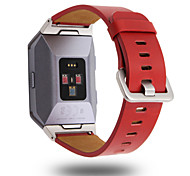 cheap -For Fitbit Ionic Band Leather Accessory Band Bracelet Watch Band