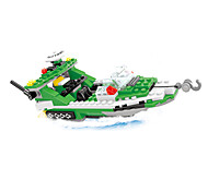 Building Blocks Helicopter Toys Ship Helicopter Nautical Military Boys 300 Pieces