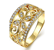 Women's Knuckle Ring Nail Finger Rings Band Rings Cubic Zirconia AAA Cubic Zirconia Fashion Personalized Zircon Cubic Zirconia Gold