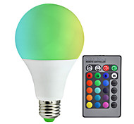 1pc A80 RGB LED Lamp 10W E27 RGB LED Light Bulb SMD5050 Multiple Color Remote Control Lampada LED AC85-265V