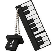 Silicone Piano High Speed Shockproof 256GB USB 2.0 Flash Drive U Disk Memory Disk