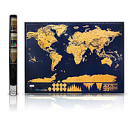 cheap -Scratch Map Map Card Paper Paper Elegant & Luxurious Gift