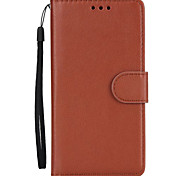 For Case Cover Card Holder Wallet with Stand Flip Full Body Case Solid Color Hard PU Leather for OnePlus One Plus 5