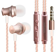 X13 In Ear Wired Headphones Dynamic Plastic Mobile Phone Earphone Noise-isolating with Microphone Headset
