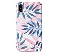 cheap -Case For Apple iPhone X iPhone 8 Pattern Back Cover Tree Hard PC for iPhone X iPhone 8 Plus iPhone 8 iPhone 7 Plus iPhone 7 iPhone 6s