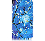 cheap -Case For Motorola Card Holder Wallet with Stand Flip Pattern Full Body Cases Flower Tree Hard PU Leather for Moto G5 Plus Moto G5 Moto C