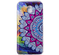 cheap -Case For Samsung Galaxy J7 (2017) J5 (2017) Glow in the Dark IMD Pattern Back Cover Mandala Soft TPU for J7 (2017) J7 (2016) J5 (2017) J5