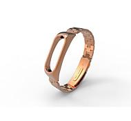xiaomi mi band 2 нержавеющая сталь роскошный браслет металл ультратонкий новый ремень-розовое золото