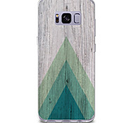 For Case Cover Pattern Back Cover Case Wood Grain Soft TPU for Samsung Galaxy S8 Plus S8 S7 edge S7 S6 edge plus S6 edge S6 S6 Active S5