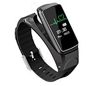 Smart Bracelet B7 Bluetooth Conversation Earset Style Heart Rate Monitor Smart Alarm Smart Bracelet 0.66'' OLED Sport Smartwatch Android/IOS