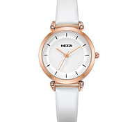 KEZZI Women's Fashion Watch Wrist watch Casual Watch Quartz PU Band Luxury Cool Casual Black White Pink