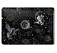 """Недорогие -MacBook Кейс для Цвет неба Мультипликация Животное Поликарбонат Новый MacBook Pro 15"""" Новый MacBook Pro 13"""" MacBook Pro, 15 дюймов"""