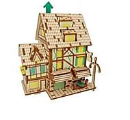 Набор для творчества 3D пазлы Пазлы Пазлы и логические игры Игрушки Лошадь Животные 3D Животные Домики Для детской Попугай Классика Мода